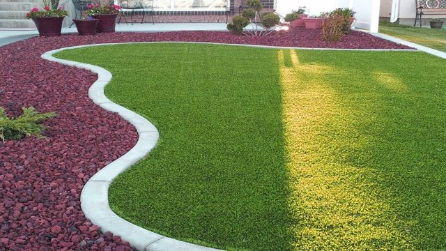 Latest Artificial Grass Garden Designs ideas | Grass Garden Landscaping
