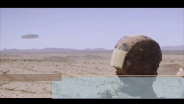 Real or Fake Huge UFO' in Arizona Desert