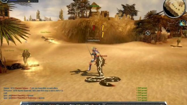 Cabal Online – Snake hunt in Desert Scream