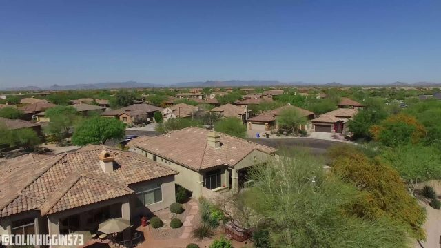 Drone Footage UHD 4K!~ Arizona Desert & Phoenix Communities!