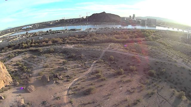 2 11 2014 DJI Phantom Tempe Phoenix Arizona papago Park 1