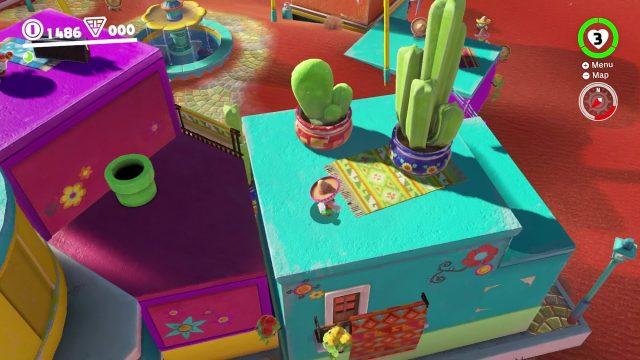 Mario Odyssey Sand Kingdom Power Moon 25 – Desert Gardening Plaza Seed