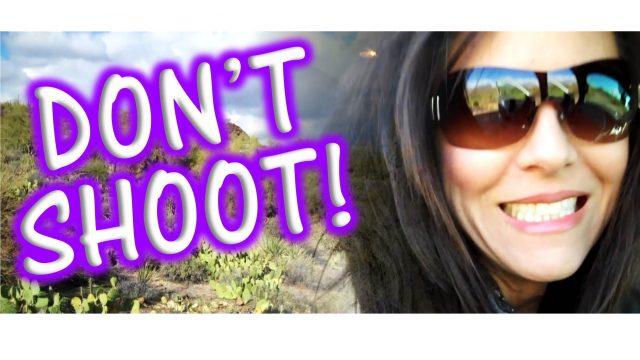 Don't Shoot! Arizona Desert with Bianca Te Rito
