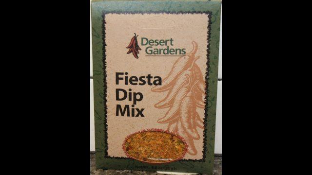 Desert Gardens Fiesta Dip Mix Review