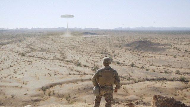Giant UFO filmed by US Marines in Arizona Desert ! Oct 2017