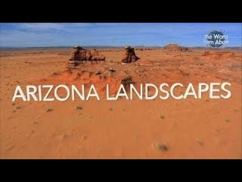 Arizona from Above – Alien Desert Landscapes – Montage (HD)