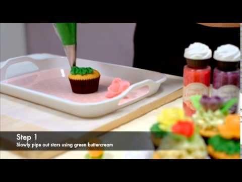 簡易盆裁Cupcake製作方法 Potted Plant Dessert