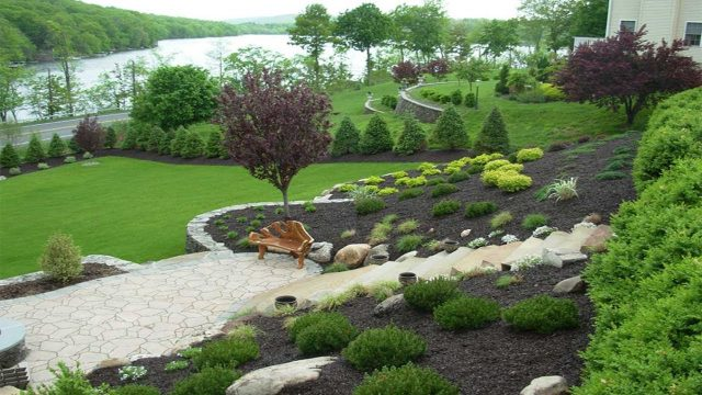 Amazing Designing gardens on slopes | slope landscaping ideas