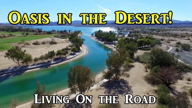 Oasis in the Arizona Desert! – Living in a Van On the Road