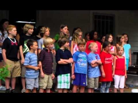 """Lean On Me""  Montessori Children's House – Community Gathering 5/27/11"