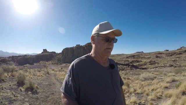 The Rambling Nomad Monolith Desert Gardens Coyote Pass Trail Head Part 3