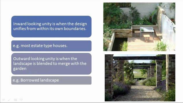 Landscape & Garden Design Principles