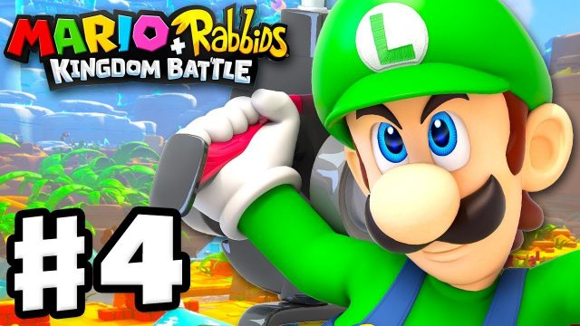 Mario + Rabbids Kingdom Battle – Gameplay Walkthrough Part 4 – World 2: Sherbet Desert!