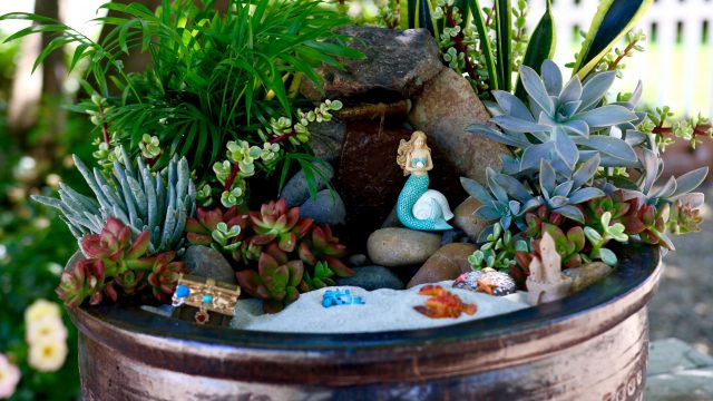Beach Fairy Garden // Garden Answer