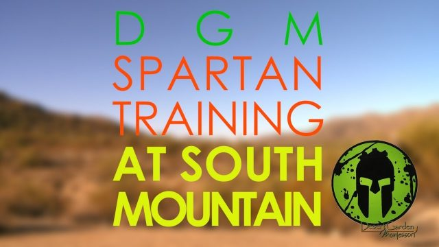 DGM SPARTAN Training at South Mtn