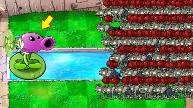 999999 Balloon Zombie vs Cactus-Nut Hack Plants vs Zombies