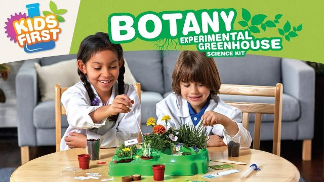 Kids First Botany: Experimental Greenhouse Science Kit