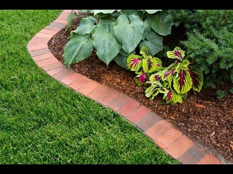 How to Edge a Garden Bed With Brick – This Old House