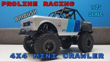 Proline Racing 1/25 Ambush 4×4 Mini Scale Crawler Unboxing & Overview
