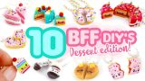 10 Dessert BFF DIY's! – Polymer Clay Compilation!