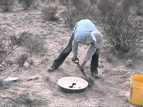 Tree planting with the Groasis waterboxx in the Chihuahua Desert