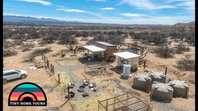 The Ultimate Off The Grid Tiny House Homestead ~ Thriving In The Arizona Desert!