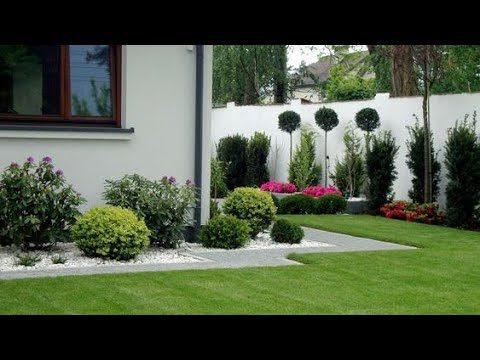 60 Fresh And Beautifu Garden Front and Backyard Ideas| beautiful landscape