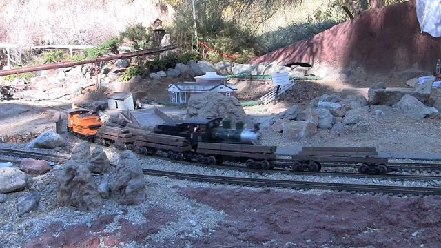 Huge Model Train Display at the Living Desert
