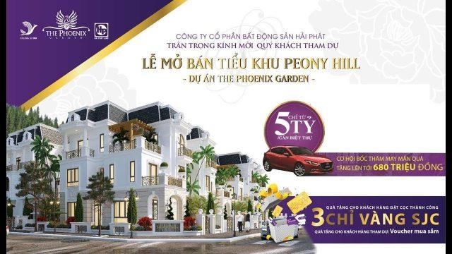 Khu đô thị The Phoenix Garden – Khu đô thị đáng sống nhất phía Tây Hà Nội