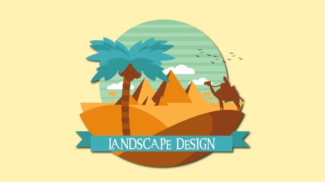 Desert Landscape Illustration Illustrator Tutorial