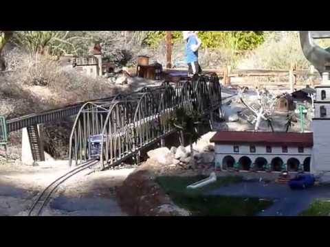 The Living Desert Zoo and Gardens Miniature Railways in Palm Springs California Dec  28 2016