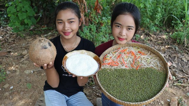 Awesome Cooking Mung Bean Dessert Delicious Recipe – Cook Bean Plant Recipes – Village Food Factory