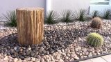 Exotic River Rock Desert Landscaping PART 1