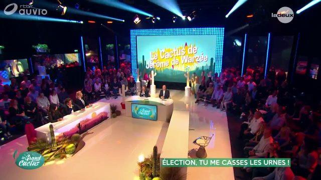 Le Cactus de Jérôme de Warzée : Election, tu me casses les urnes !