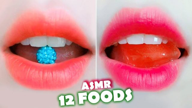 ASMR RAW Jewelry, Ice, Tobiko Eggs, Mulberry, Aloe Vera, Sea Grapes, Cactus, Lime, Chili Eating