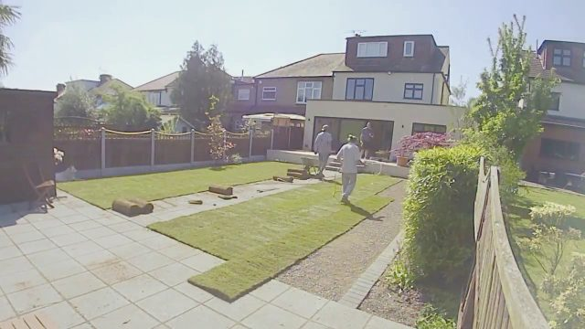 East London Garden Landscaping (Time-Lapse)
