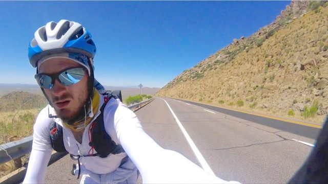 Bicycle Touring Arizona Desert, NO WATER!! – Cycling Across USA – Ep.3