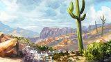 Painting A Desert Scene