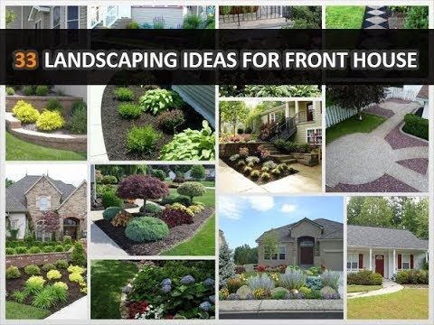 33 Low-Maintenance Landscaping Ideas for Front House – DecoNatic