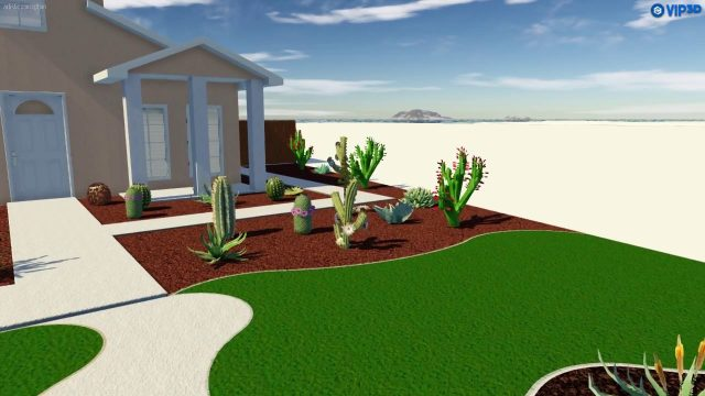 Modern Landscape Design (desert)