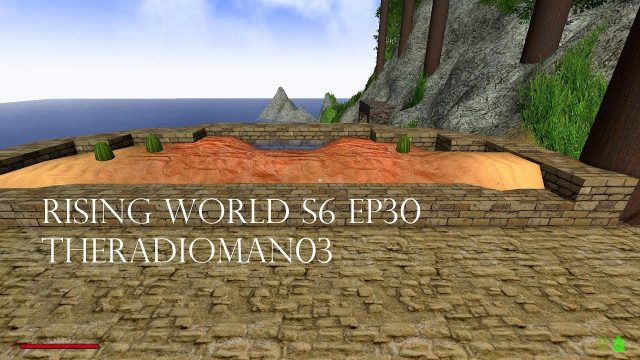 "Rising World S6 EP30 ""Desert Garden Build"""