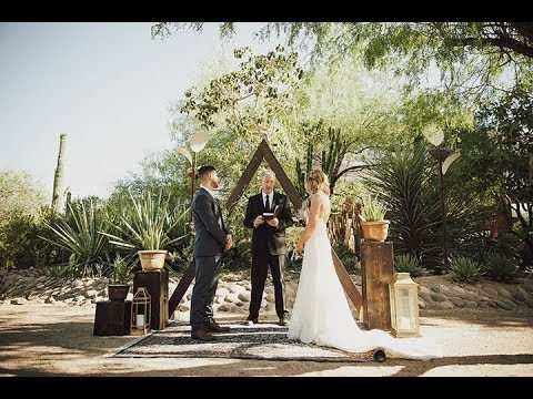 Southwestern Destination Wedding at Desert Botanical Garden | TJonsey Films