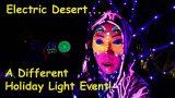 Desert Botanical Garden Christmas Lights // Electric Desert // Full Time RV