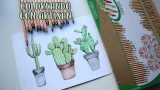 Dibujando y pintando cactus│Artisan│Candy Bu