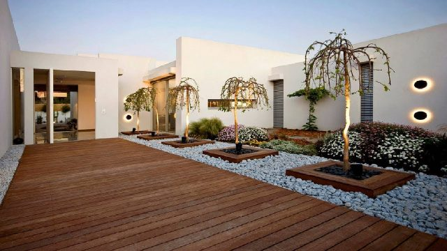 100 Modern House Backyard Design Ideas – Beautiful Landscape