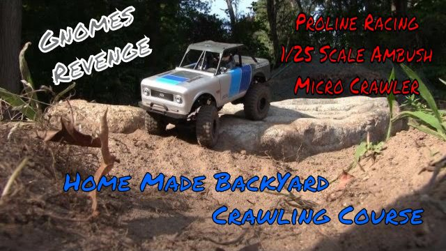 Epic Scale Trail Course – Proline Racing Ambush 4×4 Micro RC Crawler