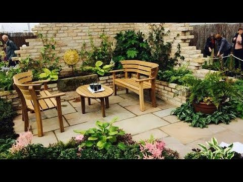 Backyard patio garden landscaping ideas