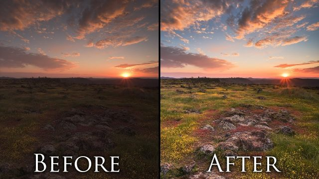 Post Processing Landscape Photos in 5 Minutes – Photoshop Tutorial and Workflow