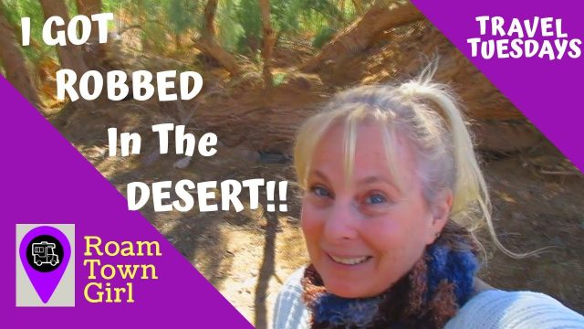 How I Got Robbed While Boondocking In The Arizona Desert!!