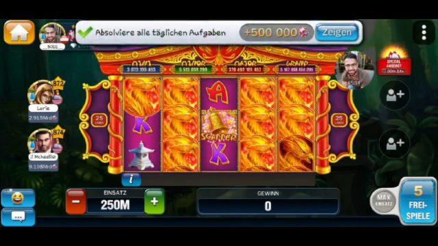 Huuuge Casino PHOENIX GARDEN #19
